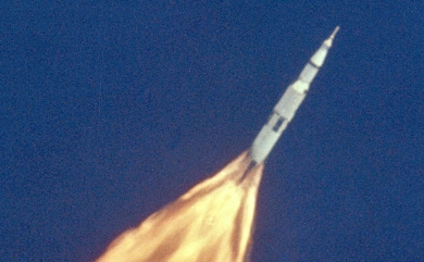 Picture of an Apollo launch