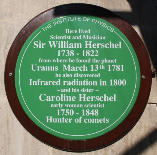 Herscel plaque - Bath