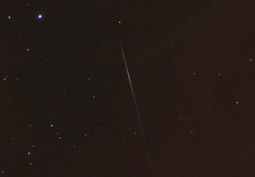 Meteor just west cygnus imaged by Danny Thomas