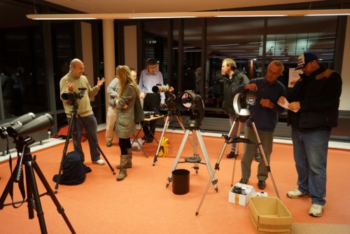 Photograph of Crawley AS Telescope Workshop
