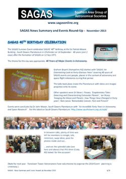 SAGAS Report Nov 2013 - thumb